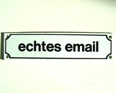 echtes email